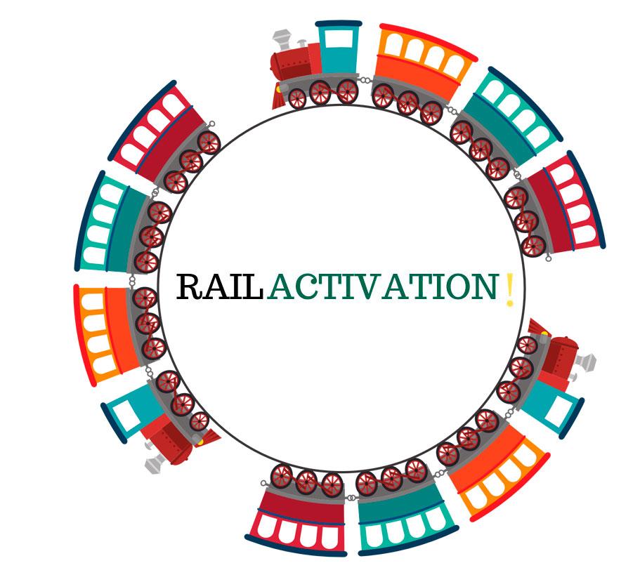 Logotipo Rail Activation